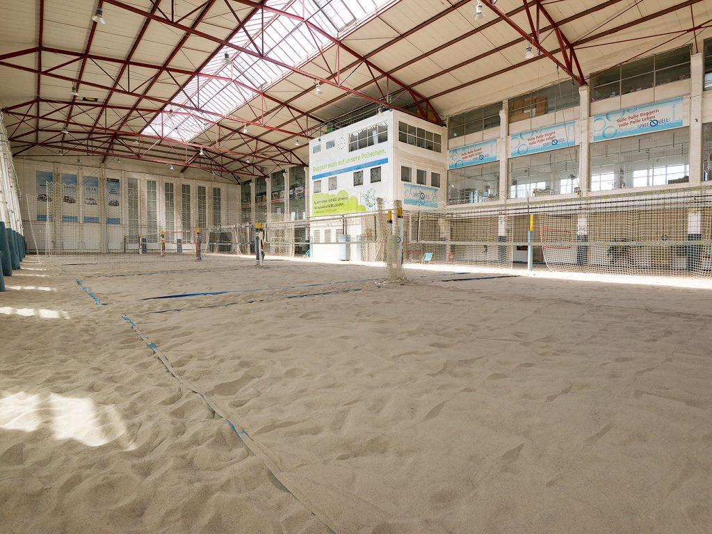 Am South Beach Berlin Beachvolleyballplatz
