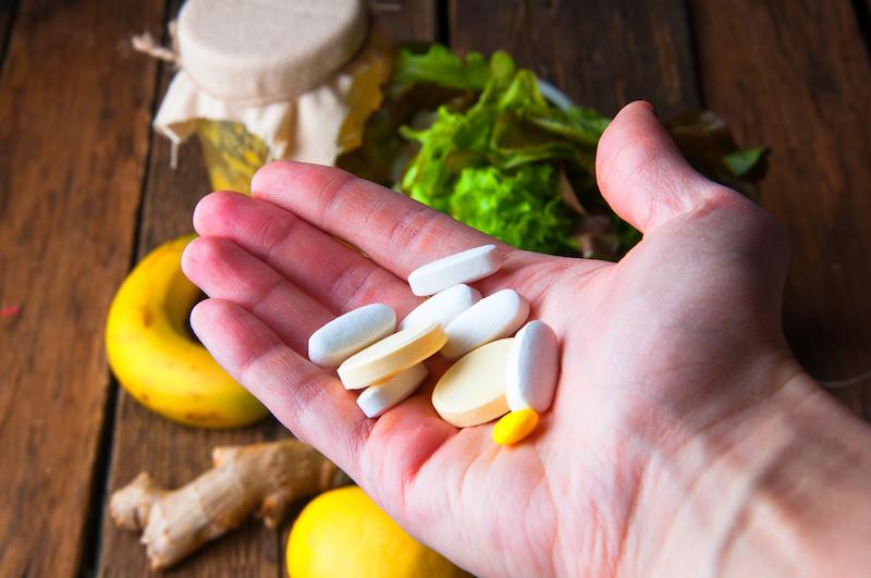 Sport Ernährungsplan: Nahrungsergänzungsmittel