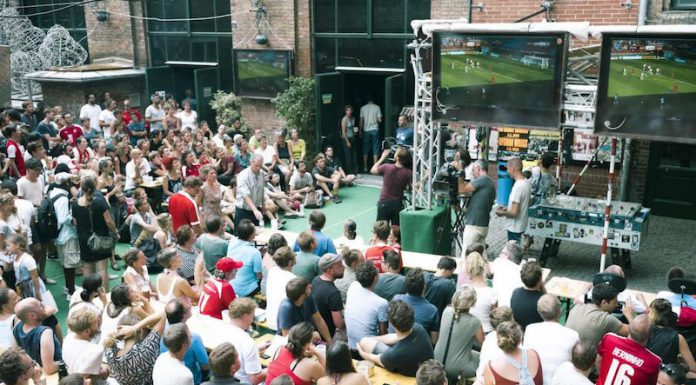 Public Viewing Wien: WM-Quartier im WUK