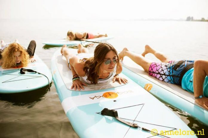 SUP Yoga - Yoga Arten