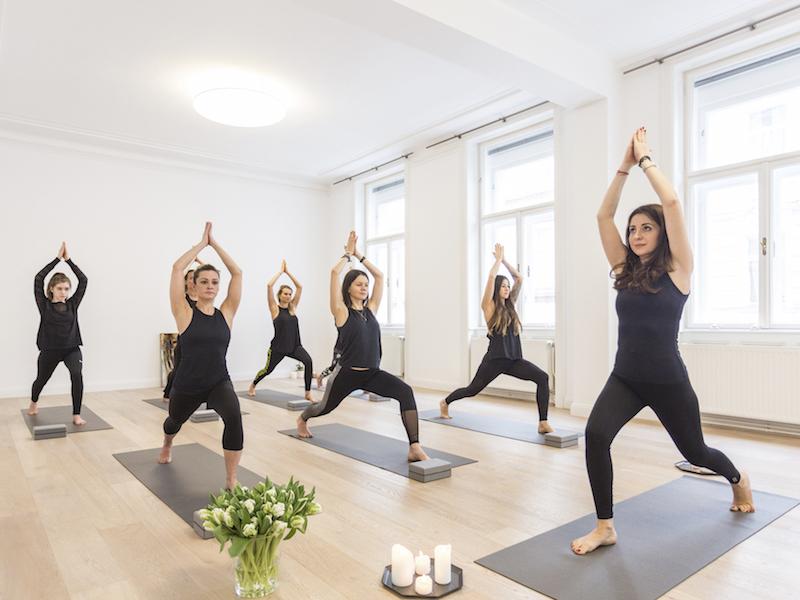 Yoga gegen Muskelkater bei Body Concept