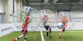 Funsportart Bubble soccer