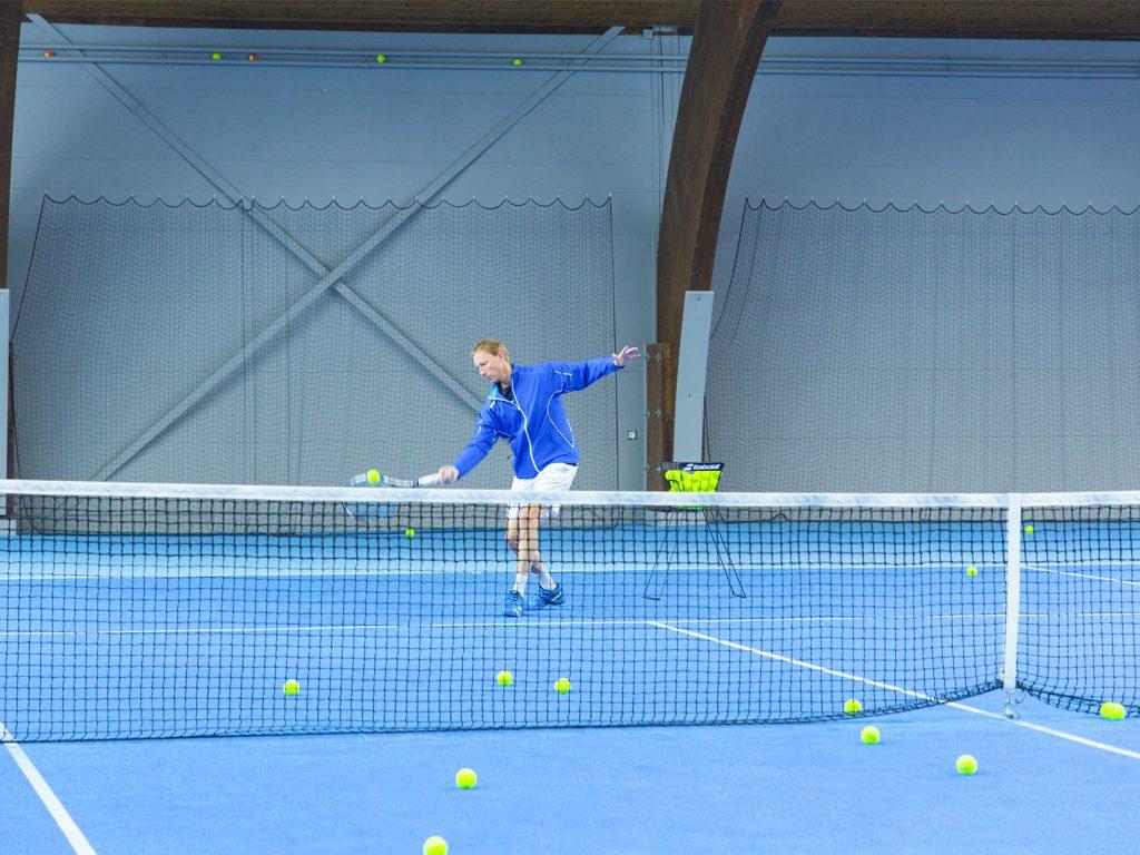 Tennis - Wie viel Sport ist gesund?