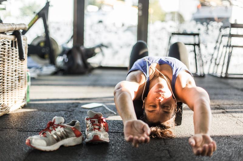 Bei Muskelkater regenerieren bei Crossbox