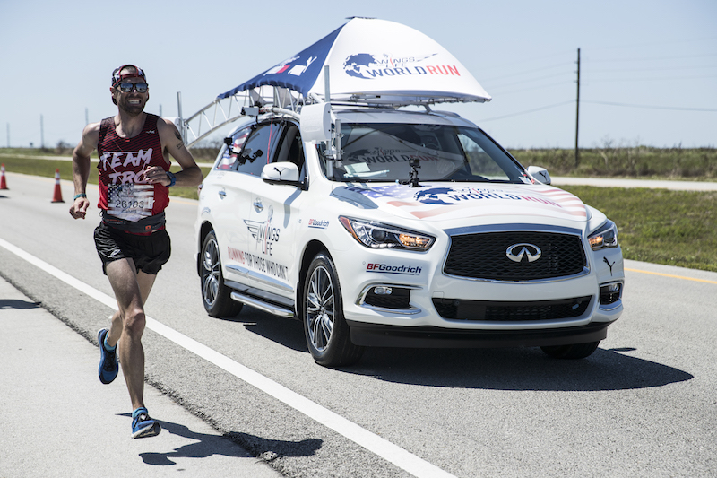 Catcher Car beim Wings for Life World Run