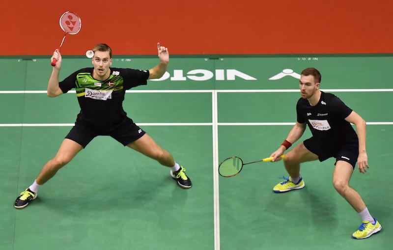 Badmintonregeln: Männer Doppel während der Perodua Malaysia Masters 2018