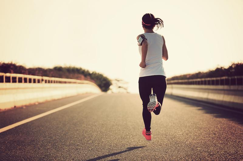 Fit in den Frühling mit Jogging