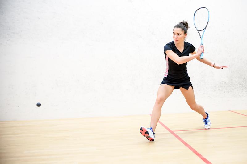 Squash Sport macht fit
