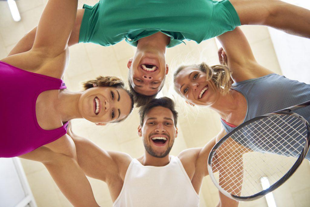 Squash Verein: gemeinsam den inneren Schweinehund besiegen