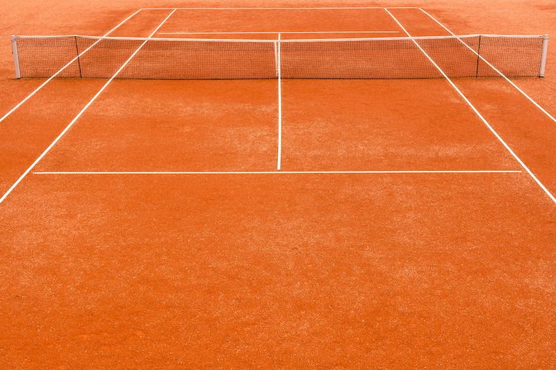Tennisregeln - Spielfeld