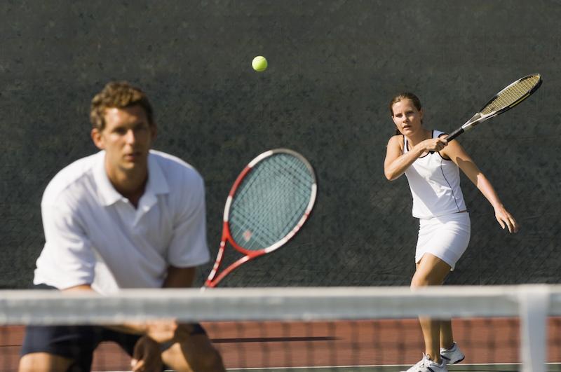 Tennis Doppel - Gemischtgeschlechtliche Teams
