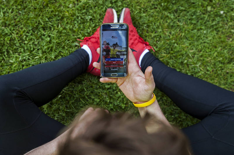 Mit der App am Wings for Life World Run teilnehmen