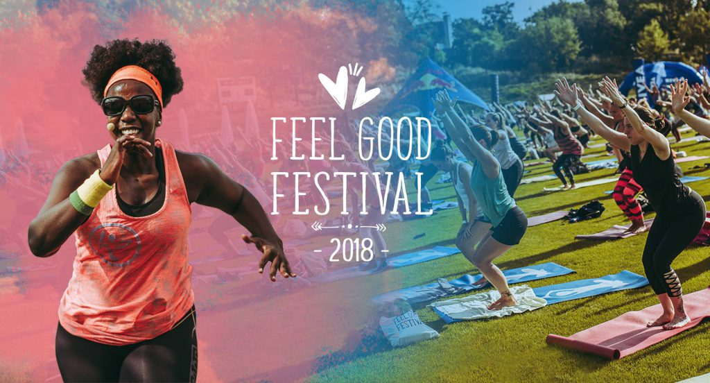 Yoga im Park Wien - Feel Good Festival