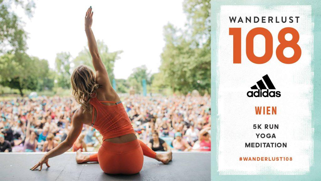 Yoga im Park Wien - Wanderlust 108