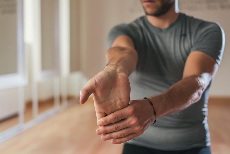 Badminton Tricks - Schultern lockern und dehnen