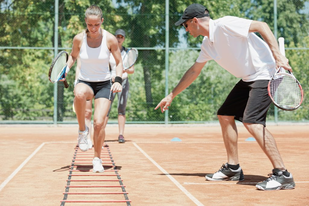 Tennis Fitness - Beinarbeit