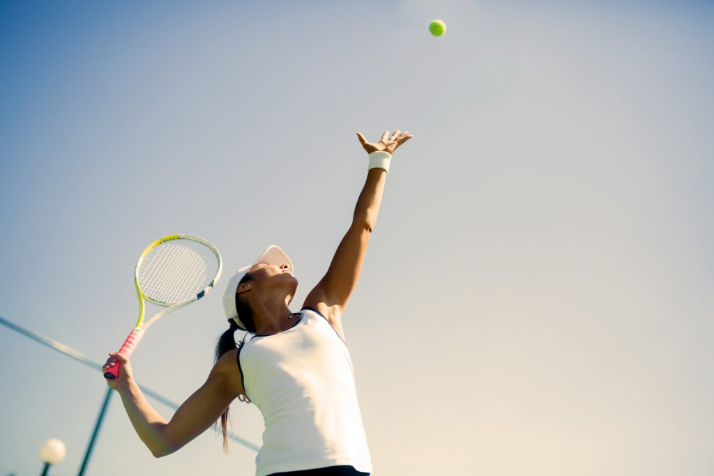 Tennis Training - Visualisierung