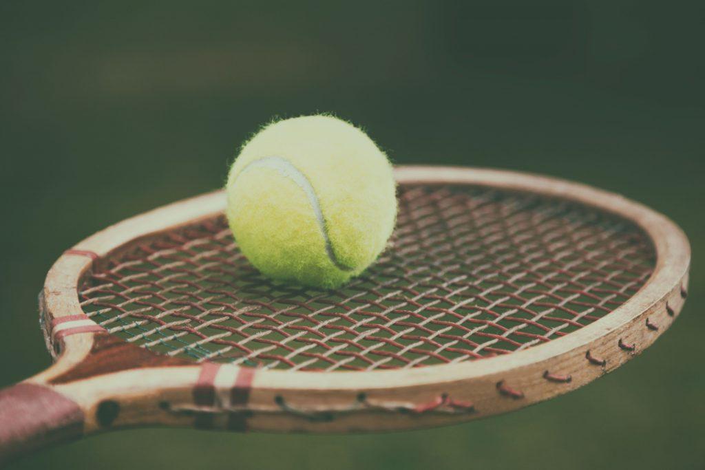Tennis Geschichte - Schläger