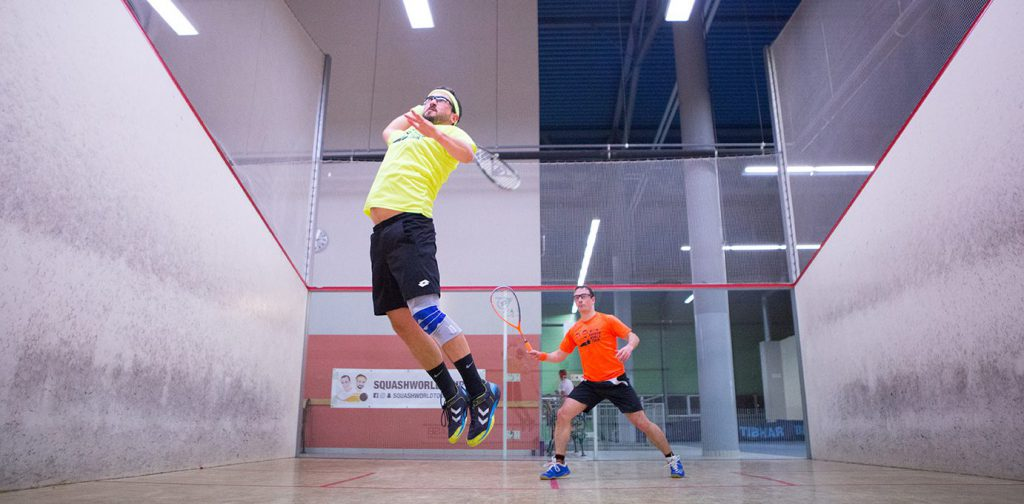 Squash World Tour Vienna teamyellow
