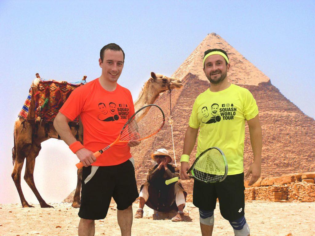 Joel & Peter wollen mit Social Media für Squash begeistern | © Squash World Tour